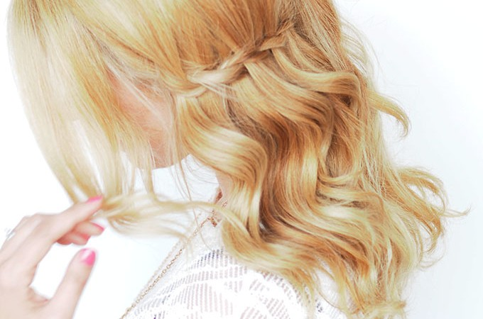 Hair Romance - Waterfall Twist hairstyle tutorial