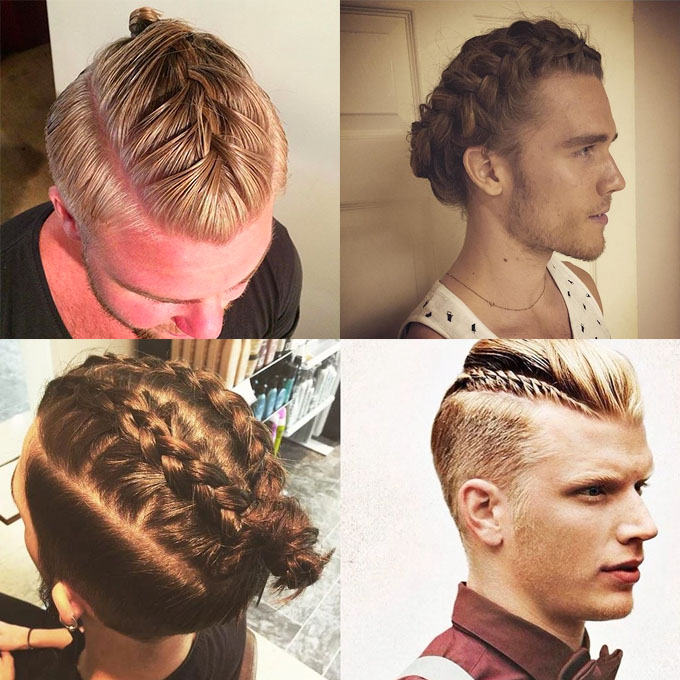 So unless you ve been under a rock the latest hair trend is the man