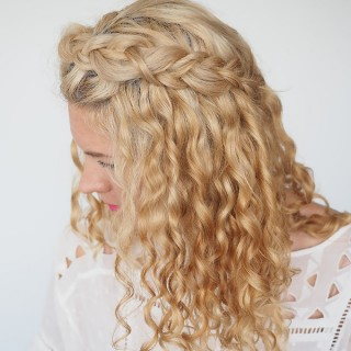 30 Curly Hairstyles in 30 Days – Day 2