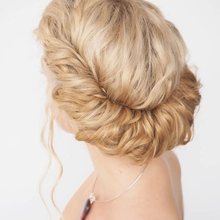 Hair Romance - 30 Curly Hairstyles in 30 Days - Day 18 - Headband twist