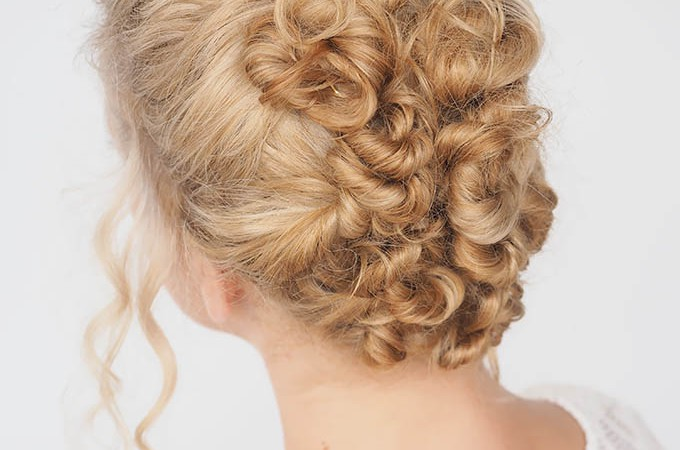 Hair Romance - 30 Curly Hairstyles in 30 Days - Day 26 - The Twist & Pin