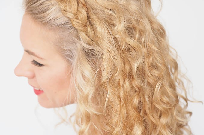 Hair Romance - 30 Curly Hairstyles in 30 Days - Day 27 - Braid Headband