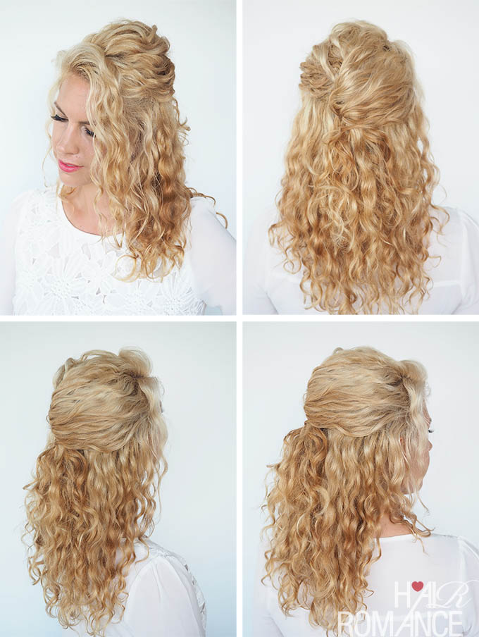 30 Curly Hairstyles In 30 Days Day 6 Hair Romance
