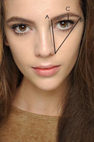 Eyebrow makeup for blondes infiltr?es