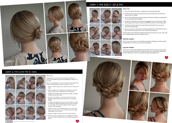 Hair Romance ebook preview - Twist & Pin