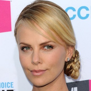 How-to: Charlize Theron's braided upstyle