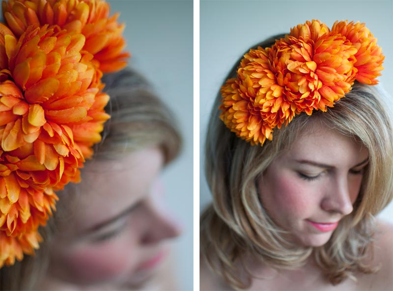 Hair Accessory Diy Floral Headband Hair Romance