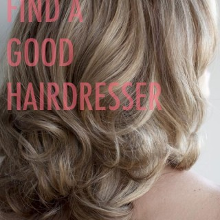 How to find a good hairdresser