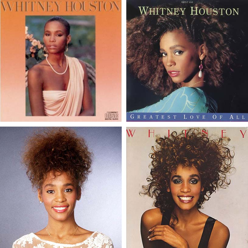 Big Hair Friday Whitney Houston Hair Romance