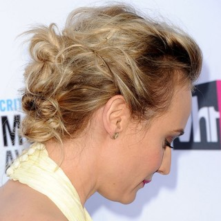 Twist & Pin Hairstyle Inspiration – Diane Kruger