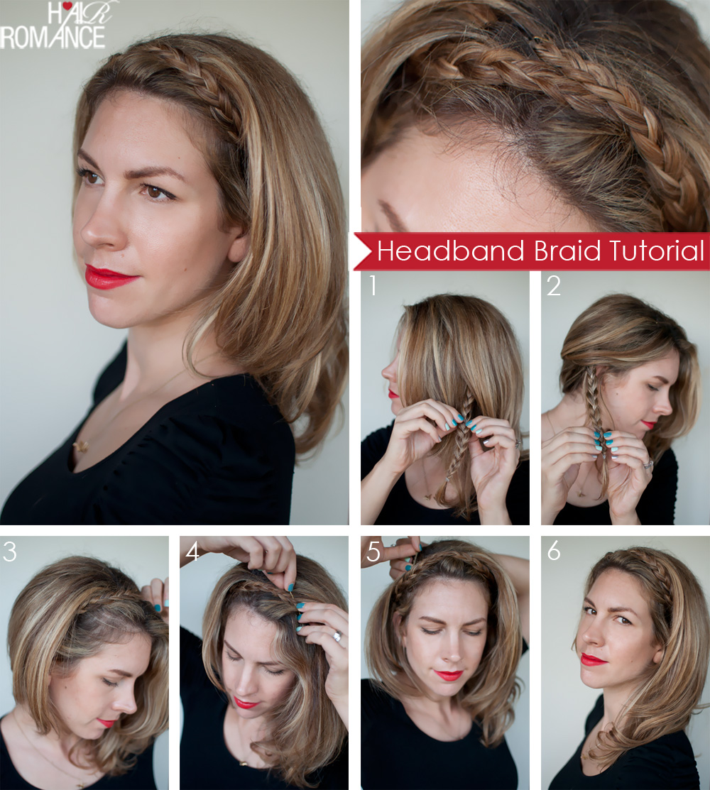 Headband Braid Hairstyles For Romantic Girls To Show Off Their Nature advise