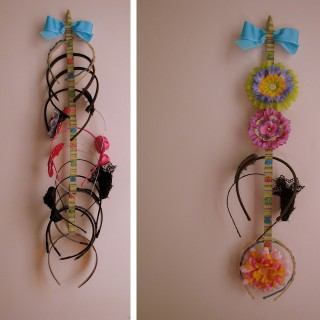 Headband storage ideas