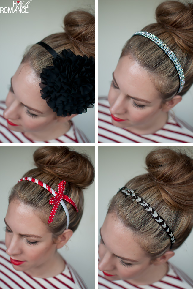 Top knots and headbands - Hair Romance a0b990e769d