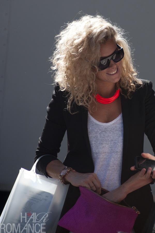 Street Style Hair Big Blonde Curls Hair Romance
