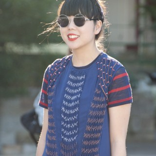 Street style hair – Susie Lau of Style Bubble