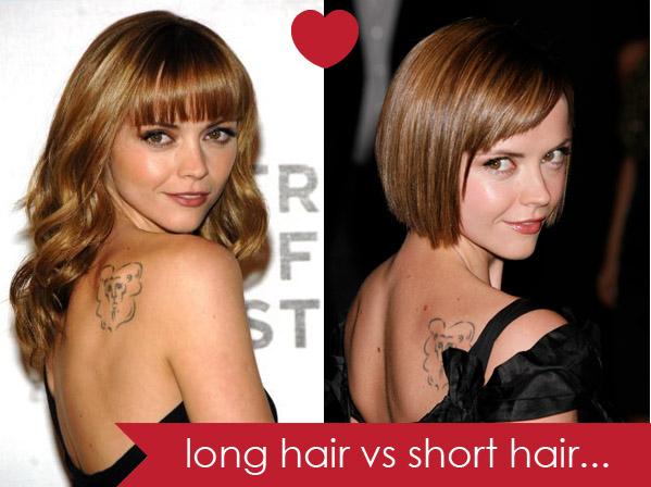 Long Hair Vs Short Hair Hair Romance