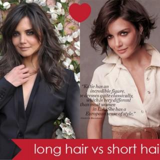 Long hair vs short hair…