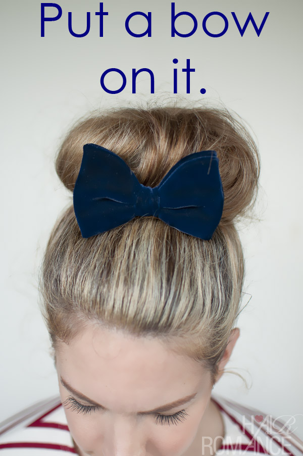 Put A Bow On It Hair Romance
