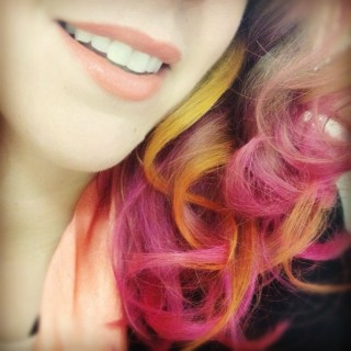 Hair Romance loves pink ombre hair