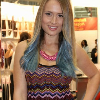 Top hair colour trends as seen at Sydney Hair Expo 2012