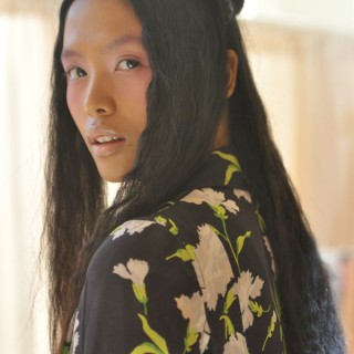NYFW hair-spiration: Eclectic texture at Chris Benz