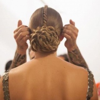 NYFW Hair-spiration: Tribal twists at Tribune Standard