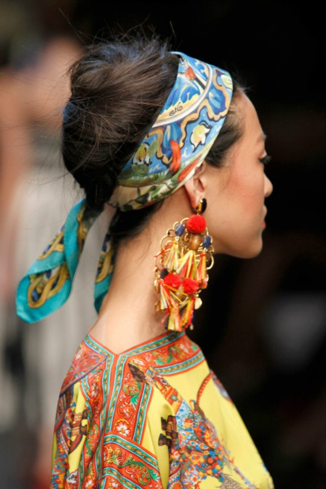 Must Have Hair Accessory Dolce Gabbana Ss13 Hair Romance