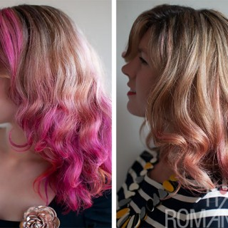How long does pink hair dye last?