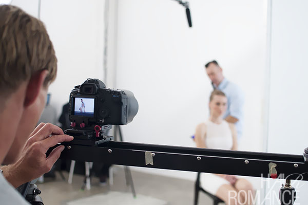Alan White - ghd - behind the scenes 3