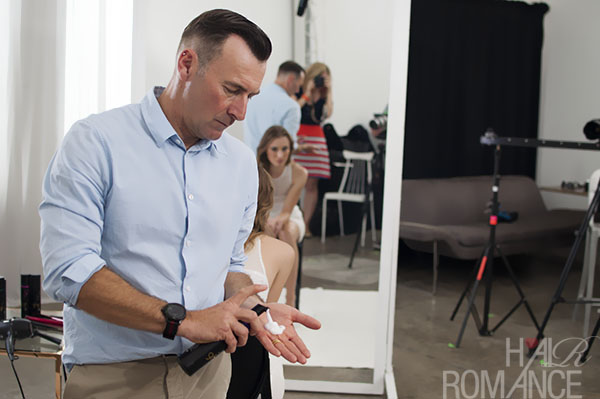 Alan White - ghd - behind the scenes