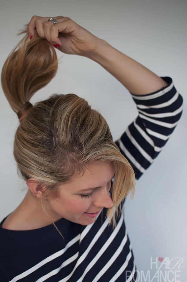 Hair Romance - braided ponytail tutorial