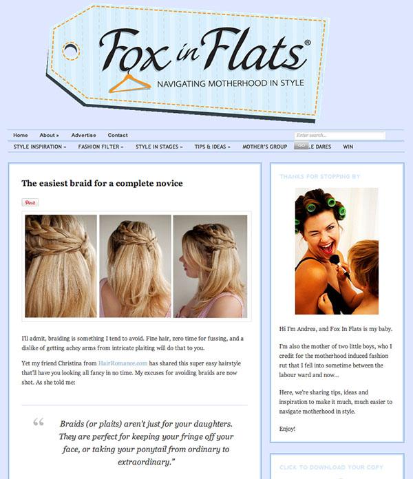 Hair Romance on Fox in Flats