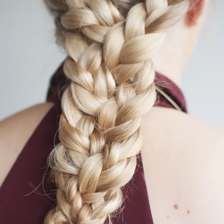 The Triple Braid hairstyle tutorial