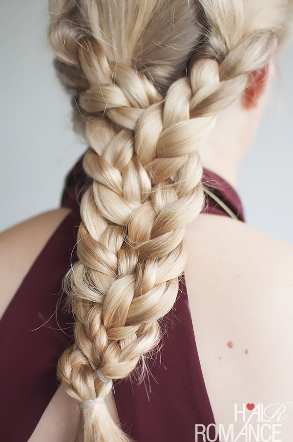 Hair Romance - triple braid