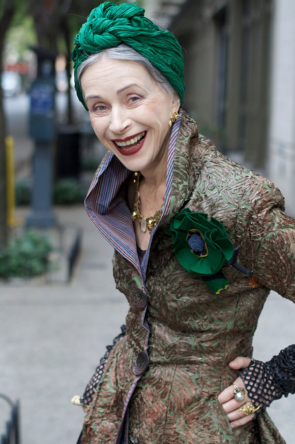 Beatrix Ost - Advanced Style - Emerald Green turban