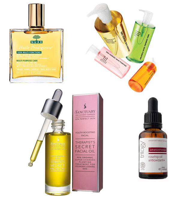Face and body oils