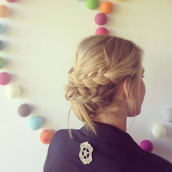 Hair Romance braided updo via Instagram