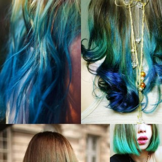 Emerald Green Hair – Pantone Colour of the Year 2013