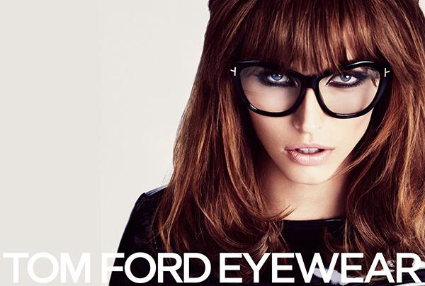 Tom Ford Eyewear Campaign - Big 1960s hair