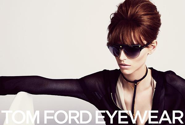 Tom Ford Eyewear Campaign - Big hair beehive
