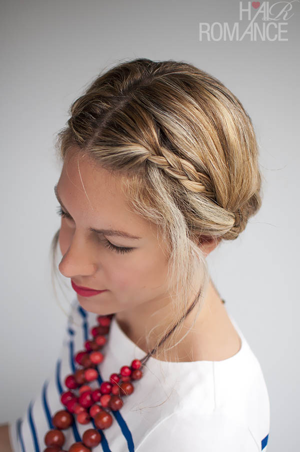 Double Braid Updo by Hair Romance
