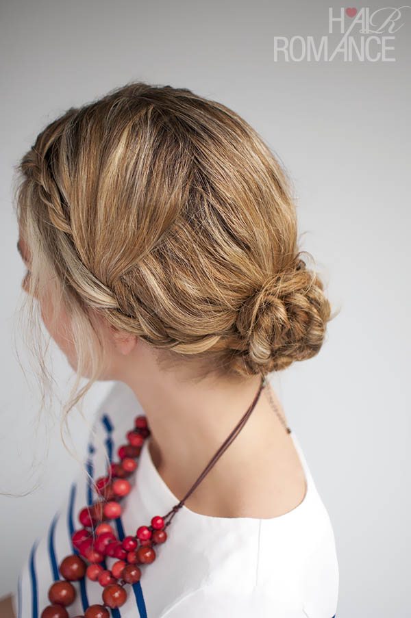 Double Braid Upstyle by Hair Romance