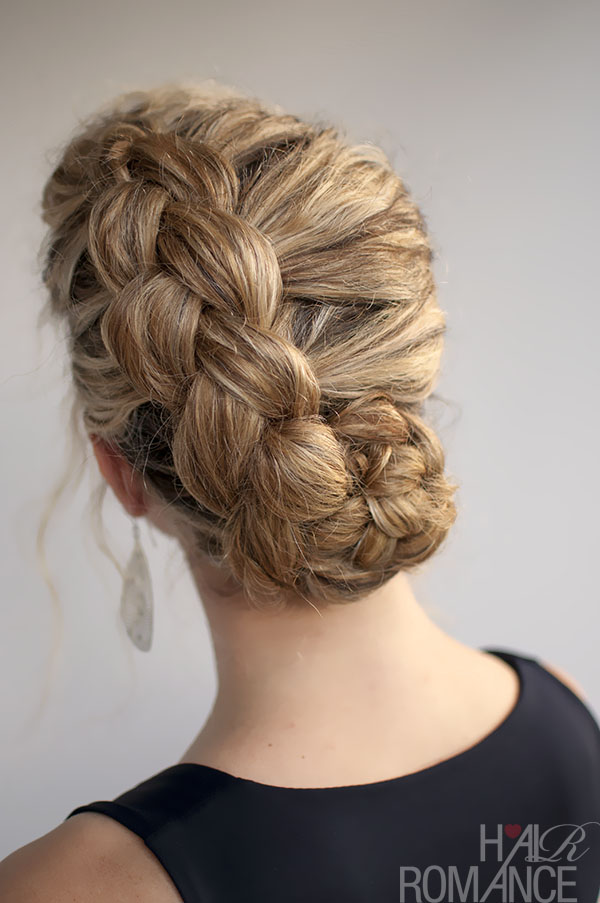 Hair Romance - Dutch Braided hairstyle for curly hair