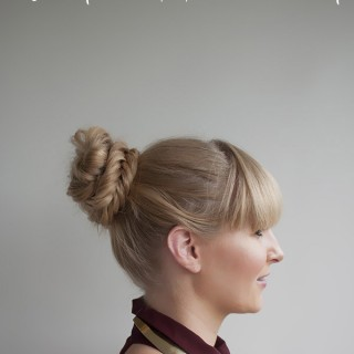 Hairstyle Tutorial – Fishtail Braided Bun