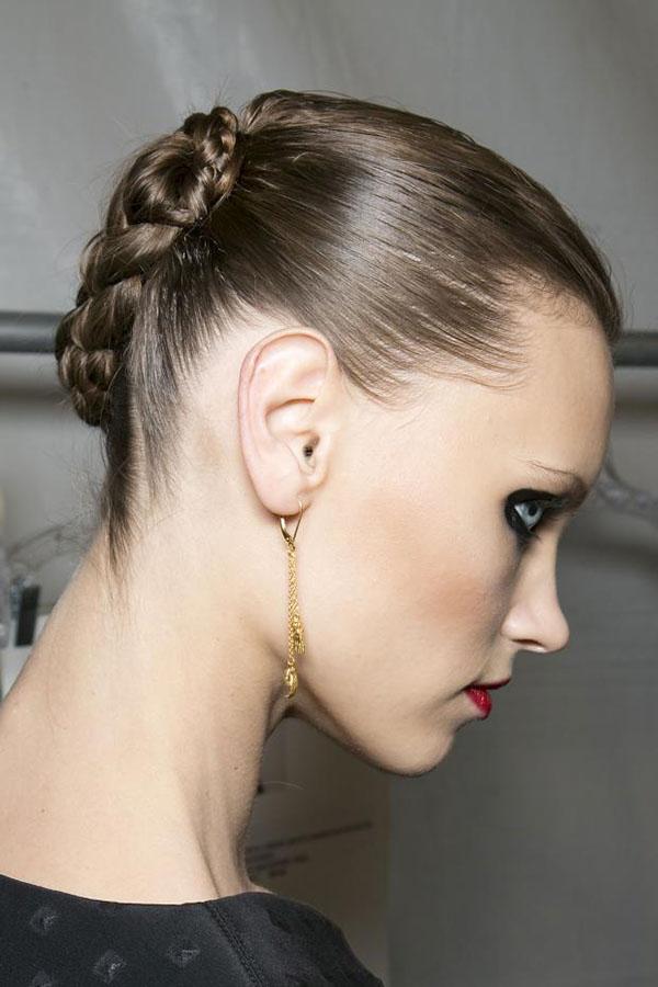 Jen Kao NYFW 2013 hair - braid