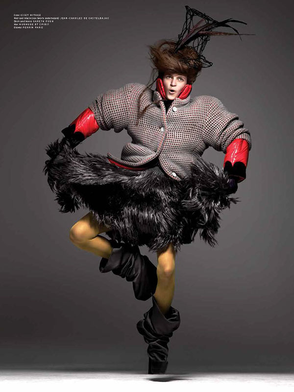 Mad Hatter big Hair for Pulp Magazine