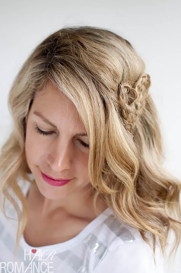 Valentine's Hairstyle - Heart Braid by Hair Romance