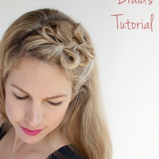 Bow Braids Hairstyle Tutorial