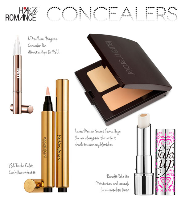 Hair Romance - Makeup Monday Concealers