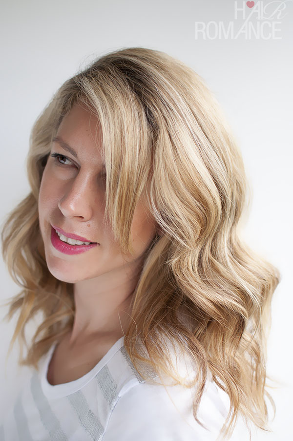Hair Romance - loose waves hair tutorial